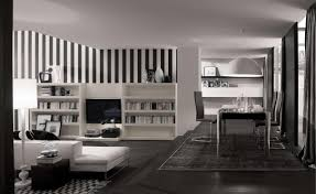 white home interior how to decorate in black and white
