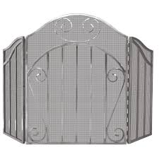 pewter fireplace screens 28 images 3 fold pewter leaded glass