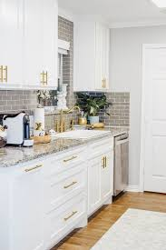 small kitchen cabinet ideas our kitchen sink woes our small kitchen reveal vandi fair