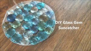 diy glass gem suncatcher youtube