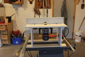 Building A Router Table by Custom Router Table