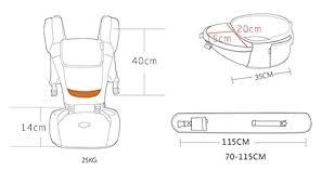 si e ergonomique guan porte bébé respirante fesses sièges carrier design ergonomique