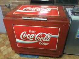 coca cola fridge glass door 1960 u0027s coca cola refrigerator cocacola pinterest coca cola