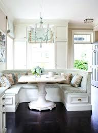 banquette with round table kitchen banquette dining table modern dining room chicago with