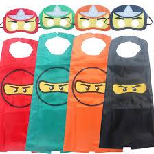ninja ninjago character cosplay children u0027s cloak masks capes