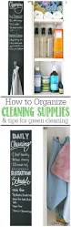 How To Organize How To Organize Cleaning Supplies Clean And Scentsible