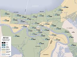 Printable Zip Code Maps by Zip Code Map New Orleans Zip Code Map