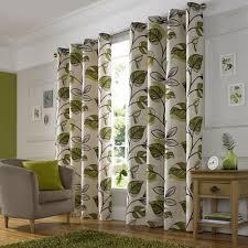 Curtains With Green Wilko Shadow Leaf Curtain 167x183cm Interior Design Pinterest