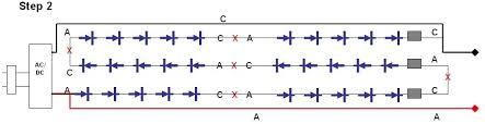 how to convert to led lights diy christmas lights modify convert 120vac set of led lights to