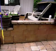 beautifying concrete block guest concrete patios and backyard