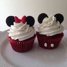 mickey mouse cupcakes mickey and minnie mouse cupcakes with mini oreo ears velvet