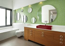 bathroom mirror ideas reflect your style freshome collect this idea mix and match circles