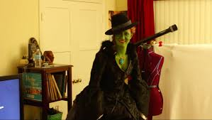 diy once upon a time wicked witch of the west costume youtube