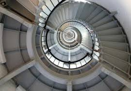 Spiral Staircase by File Ponce De Leon Inlet Spiral Staircase Cropped Jpg