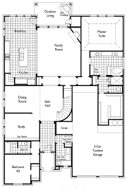 Floor Plan For New Homes Plan 247 H By Highland Homes Long Meadow Farms