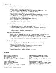drug and alcohol counselor resume counselor resume memphis tn