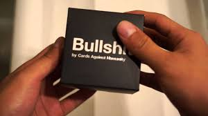 cards against humanity black friday amazon cards against humanity bullshit unboxing youtube