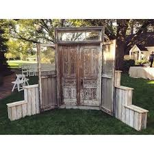 wedding backdrop doors the 11 best images about rustic wedding on vintage
