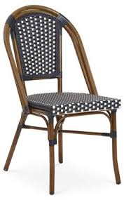 Navy Bistro Chairs These Dining Chairs Are Equal Parts Feminine And