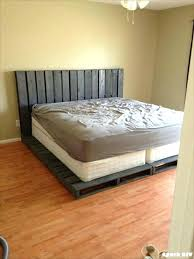 Pallet Platform Bed Bed Frame Pallet Platform Bed Frame Ideas Cool Bed