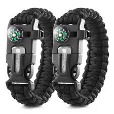survival bracelet survival kit images X plore gear emergency paracord bracelets set of 2 jpg