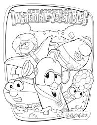 larry boy coloring pages printable veggie tales coloring pages
