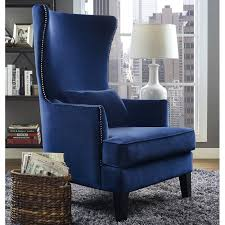 Outdoor Wingback Chair Willa Arlo Interiors Jacinto Velvet Wingback Chair U0026 Reviews Wayfair
