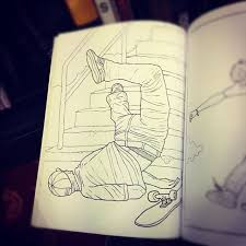 36 best skate toons images on pinterest drawings drawing and