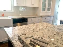 granite kitchen backsplash 4cm white ornamental granite with subway tile backsplash kitchen