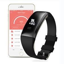 blood health bracelet images Wp101 oled blood pressure spo heart rate health sport tracker jpg