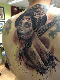 37 best zombie tattoos images on pinterest zombie tattoos