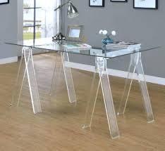 clear acrylic desk organizer clear acrylic desk the all clear desk has a seahorse design with