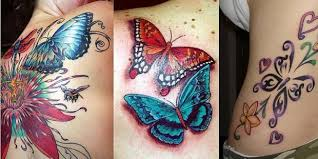 collection of 25 colorful butterflies designs for