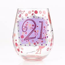 happy birthday margarita glass birthday glasses wine glasses com