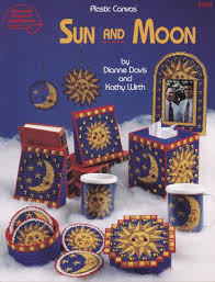 sun and moon home decor u0026 accessories plastic canvas pattern