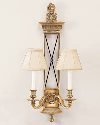 Chandelier Wall Sconce Brass Wall Sconce With Black Trim