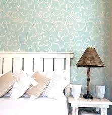 wall stencils for bedroom bedroom paint stencils flower cloud pattern wall stencil for
