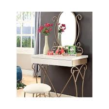 Small Corner Makeup Vanity Bedroom Furniture Sets Black Makeup Vanity Table Narrow Vanity