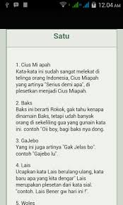kamus gaul android apps on play