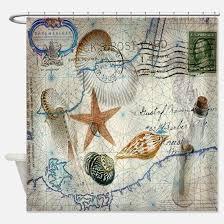 Vintage Nautical Shower Curtain Nautical Anchor Shower Curtains Cafepress
