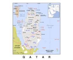 Map Of Al Maps Of Qatar Detailed Map Of Qatar In English Tourist Map
