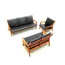 Danish Sofas And Easy Chair By Gustav Thams For Vejen Mobler - Danish sofas