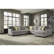 Ashley Furniture Living Room Set Sale by 5490777 Ashley Furniture Cresson Pewter Living Room Wedge