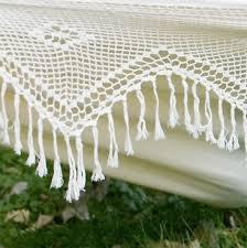 xl brazilian fabric hammock with fringe