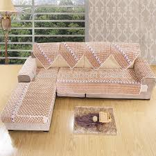 Sofa Slipcovers India by L Shaped Sofa Covers Online Memsaheb Net