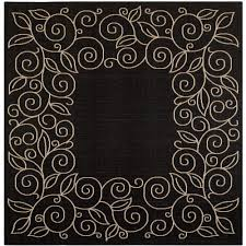 Safavieh Courtyard Indoor Outdoor Rug by High Low Square Outdoor Rugs Rugs The Home Depot