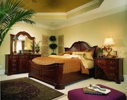 drew cherry grove mansion bedroom set in cherry