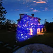 Projector Christmas Lights by Halloween Projector Animated Outdoor Projection Images Blue Flames