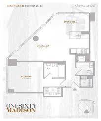 One Madison Floor Plans Streeteasy One Sixty Madison At 160 Madison Avenue In Midtown