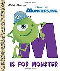 monsters golden book disney pixar monsters
